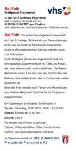 Bal Volk 25-06-2016 Schwaig